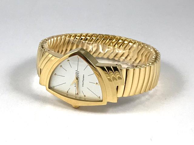 0065dc095d ハミルトン ベンチュラ(フレックス蛇腹ベルトモデル) H24301111 正規品 腕時計