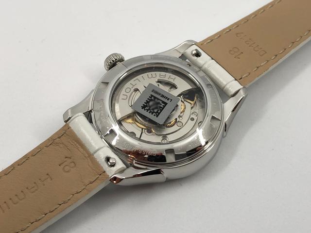 ハミルトン・ジャズマスター・オープンハート H32215890 正規品 腕時計
