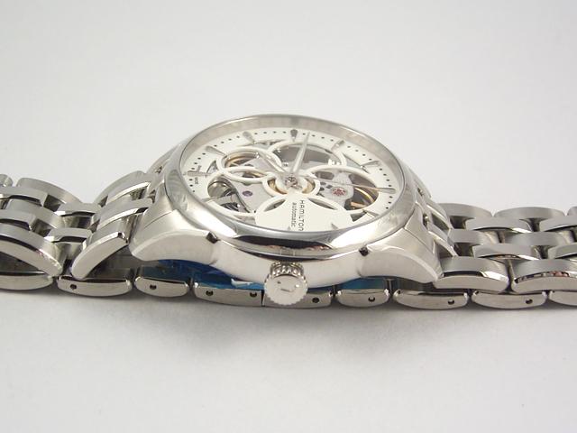 ハミルトン・ジャズマスター・ビューマチック・スケルトンレディ H32405111 正規品 腕時計