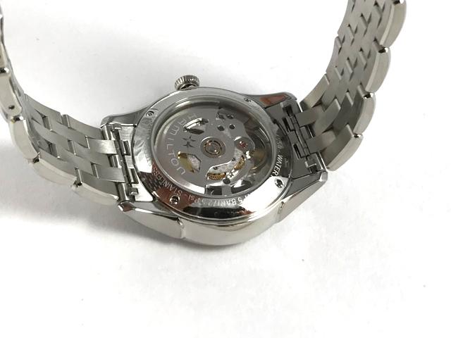 ハミルトン・ジャズマスター・スケルトンレディ(ピンクダイヤル) H32405171 正規品 腕時計