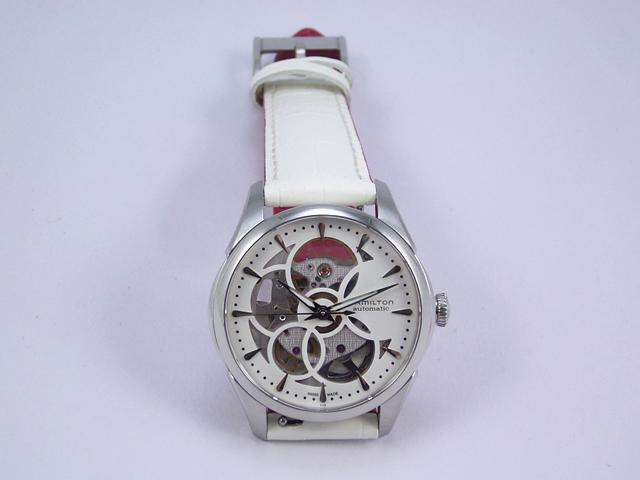 ハミルトン・ジャズマスター・ビューマチック・スケルトンレディ H32405811 正規品 腕時計