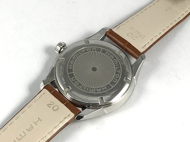 ハミルトン・ジャズマスター ジェント H32451581正規品 腕時計