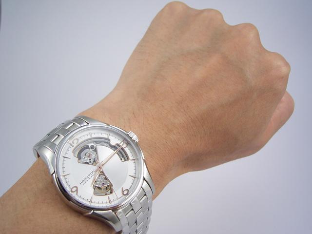 ハミルトン・ジャズマスター・オープンハート H32565155 正規品