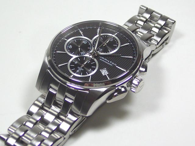 ハミルトン・ジャズマスター・オート・クロノ H32596131 正規品 腕時計