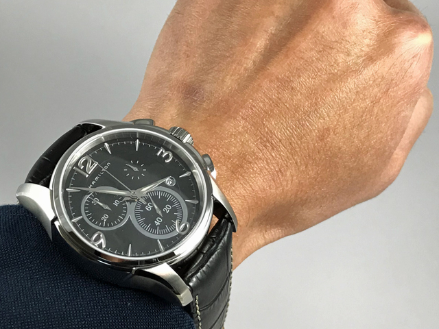 ハミルトン・ジャズマスター・クロノクオーツ  H32612735正規品 腕時計