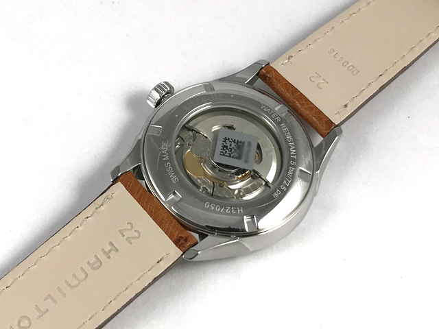 ハミルトン・ジャズマスター・オープンハート H32705041 正規品 腕時計