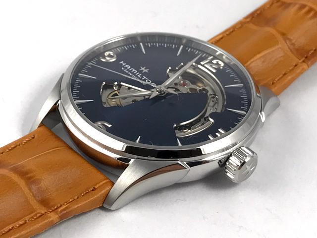 ハミルトン・ジャズマスター・オープンハート H32705541 正規品 腕時計