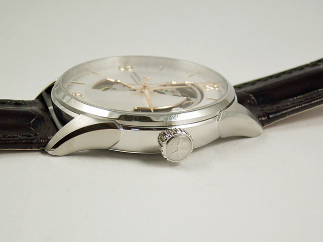 ハミルトン・ジャズマスター・オープンハート H32705551 正規品 腕時計