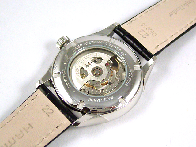 ハミルトン・ジャズマスター・オープンハート H32705731 正規品 腕時計