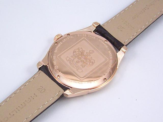 ハミルトン・ジャズマスター・シンラインプチセコンド H38441553正規品