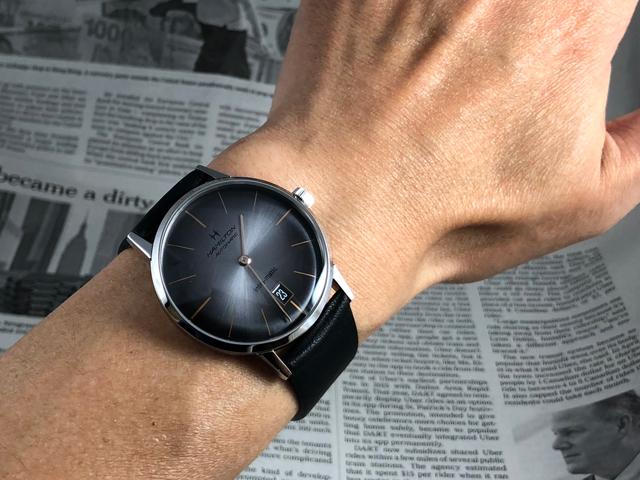 ハミルトン・イントラマティックH38455781正規品 腕時計