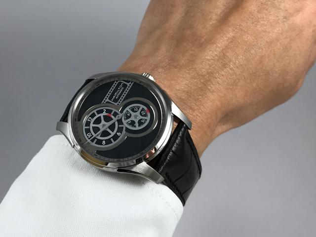 ハミルトン・ジャズマスター レギュレーターシネマ H42605731 正規品 腕時計