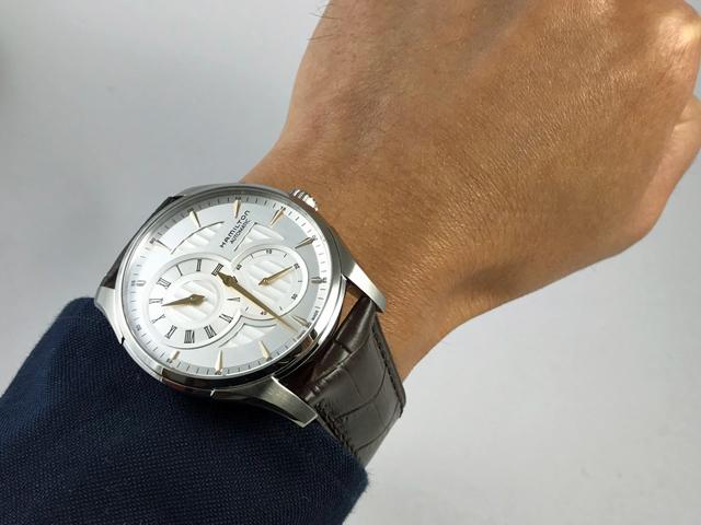 ハミルトン・ジャズマスター レギュレーター H42615551 正規品 腕時計