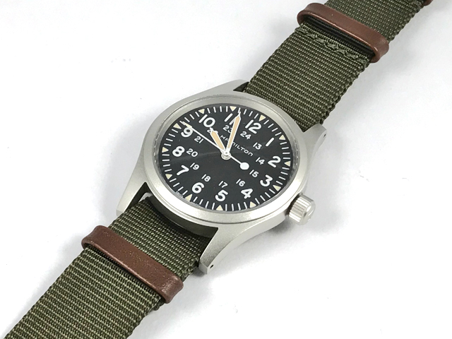 ハミルトン[HAMILTON]カーキ・フィールド・メカNATOストラップモデル H69429931 正規品 腕時計