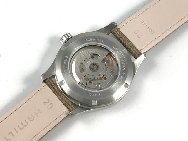 ハミルトン[HAMILTON] カーキ・フィールド・オート40mm H70305993 正規品 腕時計