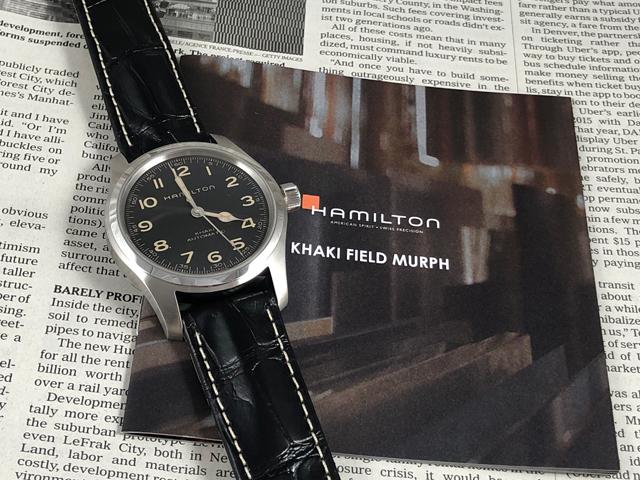 ハミルトン[HAMILTON] カーキ・フィールド・マーフ オート H70605731 正規品 腕時計