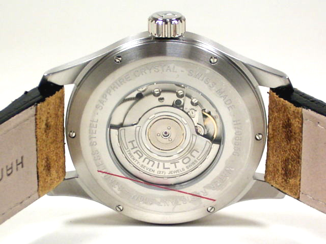 ハミルトン・カーキ・オフィサー・オート44mm H70655733 正規品