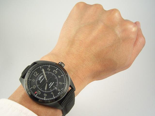 ハミルトン カーキ・フィールド・デイデイト42mm H70695735 正規品 腕時計