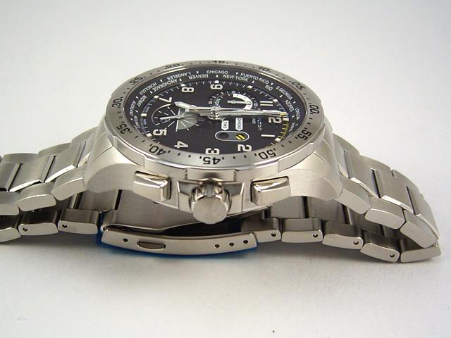 ハミルトン カーキ クロノ ワールドタイマー H76714135正規品 腕時計