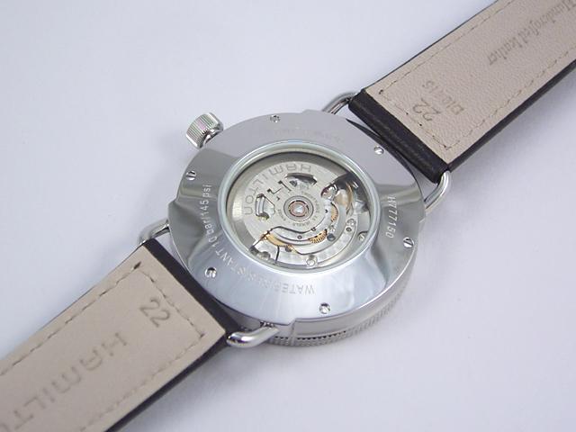 ハミルトン・カーキネイビーパイオニアオートH77715553 腕時計