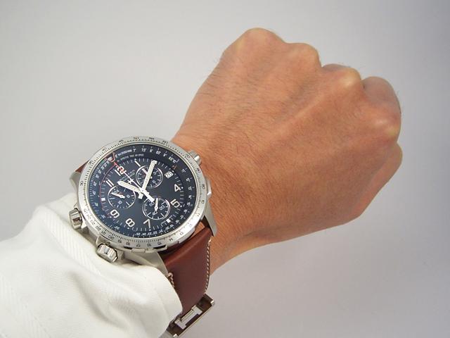 ハミルトン[HAMILTON] カーキ・エックスウインドGMT H77912535 正規品 腕時計