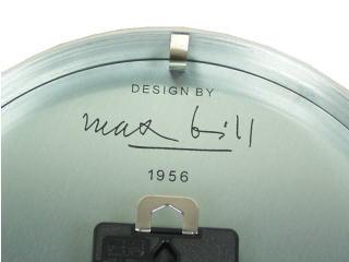 マックスビル・ウォールクロック3676049正規品