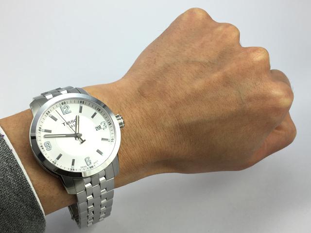TISSOT ティソ PRC200クオーツ T055.410.11.017.00 正規品 腕時計