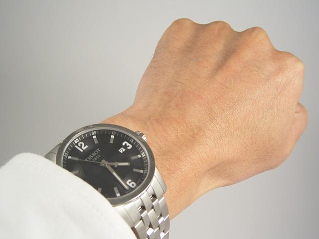 TISSOT ティソ PRC200クオーツ T055.410.11.057.00 正規品 腕時計
