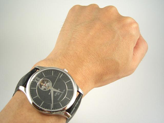 TISSOT ティソ トラディション オートマチック オープンハート T063.907.16.058.00正規品 腕時計