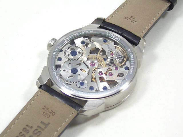 TISSOT ティソ T-コンプリカシオン スケレッテ T070.405.16.411.00正規品 腕時計