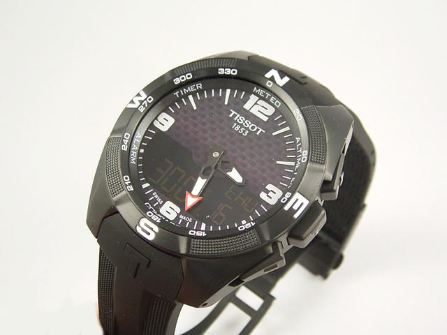 ティソ[TISSOT]Tタッチ エキスパート ソーラーT091.420.47.057.01正規品 腕時計