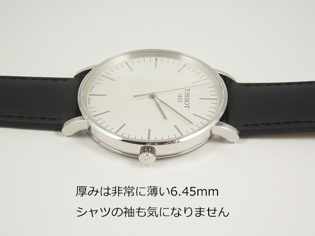 TISSOT ティソ エブリタイム T109.610.16.031.00正規品 腕時計